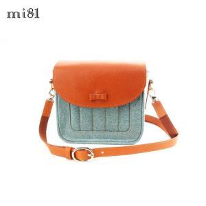 mi81 Sweety Camera bag M Skyblue Denim MT03SB ショルダー カメラバッグ おしゃれ かわいい 小型ミラーレス一眼 チェキ カメラ女子 レディース ファッション|nineselect