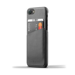 iPhone8 iPhone7 用レザーケース MUJJO Leather Wallet Case Gray カード収納 本革ケース おしゃれ 並行輸入品|nineselect