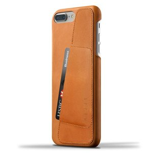 iPhone8 Plus iPhone7 Plus 用レザーケース MUJJO Leather Wallet Case Tan カード収納 本革ケース おしゃれ 並行輸入品|nineselect