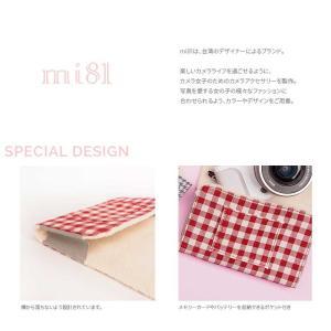 クリックポストOK! カメララップ mi81 Cotton Printed Wrap Tartan MW03TA 包む コンパクト デジタルカメラ おしゃれ かわいい マルチ 保護 カバー|nineselect|03