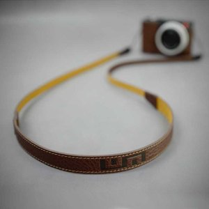 LIM'S Italian MINERVA Genuine Leather Neck Strap for Compact Camera NS-CC1BR Brown コンパクトカメラ用 ネックストラップ|nineselect|05