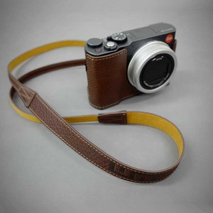 LIM'S Italian MINERVA Genuine Leather Neck Strap for Compact Camera NS-CC1BR Brown コンパクトカメラ用 ネックストラップ|nineselect|06