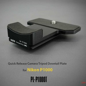 LIM'S Quick Release Camera Tripod Dovetail Plate for Nikon P1000 PL-P1000T ニコン P1000用 クイックリリースプレート アルカスイス互換|nineselect
