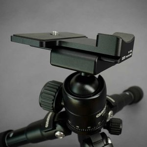 LIM'S Quick Release Camera Tripod Dovetail Plate for Nikon P1000 PL-P1000T ニコン P1000用 クイックリリースプレート アルカスイス互換|nineselect|06