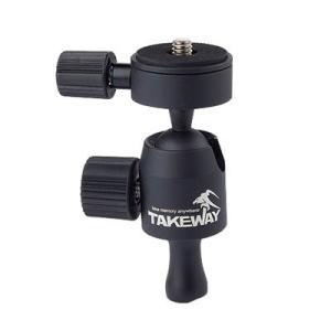 TAKEWAY テイクウェイ T-B01 Ballhead ボールヘッド ボール雲台 オプション アクセサリー|nineselect