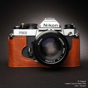 TP Original Leather Camera Body Case for Nikon FM2 Volcano ニコン 本革 レザー カメラケース Classic Series TB05FM2-LB|nineselect