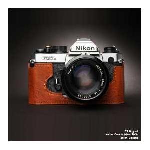 TP Original Nikon FM3A 専用 レザー カメラケース Volcano ボルケーノ ニコン フィルムカメラ ケース おしゃれ 速写ケース TB05FM3A-LB|nineselect