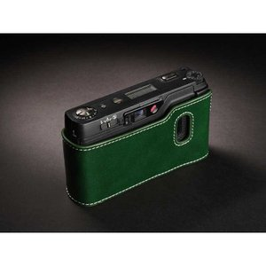 TP Original Leather Camera Body Case for RICOH GR1v Green リコー 本革 レザー カメラケース Classic  Series TB05GR1V-GR|nineselect|02