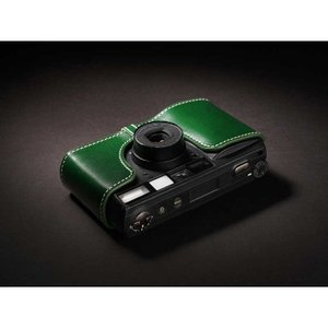 TP Original Leather Camera Body Case for RICOH GR1v Green リコー 本革 レザー カメラケース Classic  Series TB05GR1V-GR|nineselect|03