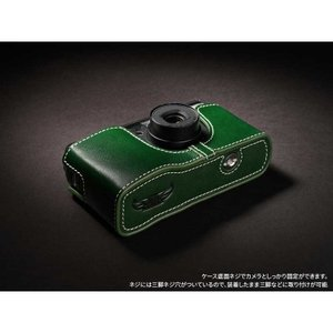 TP Original Leather Camera Body Case for RICOH GR1v Green リコー 本革 レザー カメラケース Classic  Series TB05GR1V-GR|nineselect|05