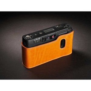 TP Original Leather Camera Body Case for RICOH GR1v Tan リコー 本革 レザー カメラケース Classic  Series TB05GR1V-WB|nineselect|02