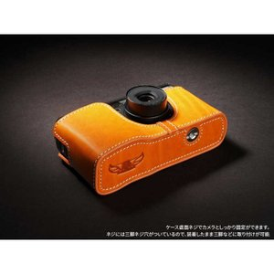 TP Original Leather Camera Body Case for RICOH GR1v Tan リコー 本革 レザー カメラケース Classic  Series TB05GR1V-WB|nineselect|05