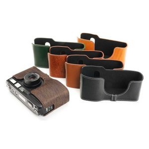 TP Original Leather Camera Body Case for RICOH GR1v Tan リコー 本革 レザー カメラケース Classic  Series TB05GR1V-WB|nineselect|06