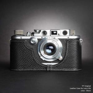 TP Original Leica IIIb 専用 レザー カメラケース Black ブラック おしゃれ 速写ケース TB063B-BK|nineselect