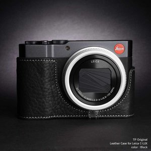 TP Original Leather Camera Body Case for Leica C-LUX Black ライカ 本革 レザー カメラケース EZ Series TB06CLUX-BK|nineselect