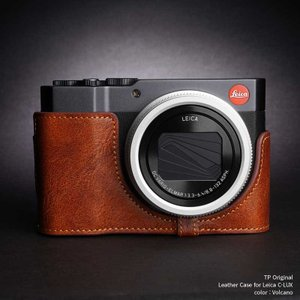 TP Original Leather Camera Body Case for Leica C-LUX Volcano ライカ 本革 レザー カメラケース EZ Series TB06CLUX-LB|nineselect