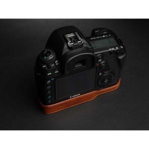 TP Original Leather Camera Body Case for Canon EOS 5D Mark IV Volcano キャノン 本革 レザー カメラケース EZ Series TB06E5D4-LB|nineselect|02