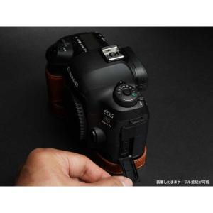 TP Original Leather Camera Body Case for Canon EOS 5D Mark IV Volcano キャノン 本革 レザー カメラケース EZ Series TB06E5D4-LB|nineselect|04