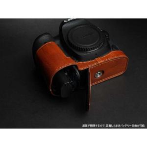 TP Original Leather Camera Body Case for Canon EOS 5D Mark IV Volcano キャノン 本革 レザー カメラケース EZ Series TB06E5D4-LB|nineselect|05