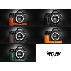 TP Original Leather Camera Body Case for Canon EOS 5D Mark IV Volcano キャノン 本革 レザー カメラケース EZ Series TB06E5D4-LB|nineselect|08