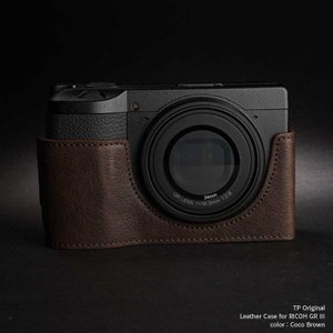 TP Original Leather Camera Body Case for RICOH GR III  Coco Brown リコー GR3 本革 レザー カメラケース EZ Series TB06GR3-CO|nineselect