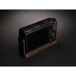 TP Original Leather Camera Body Case for RICOH GR III  Coco Brown リコー GR3 本革 レザー カメラケース EZ Series TB06GR3-CO|nineselect|04