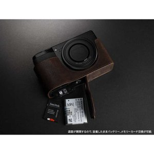TP Original Leather Camera Body Case for RICOH GR III  Coco Brown リコー GR3 本革 レザー カメラケース EZ Series TB06GR3-CO|nineselect|06