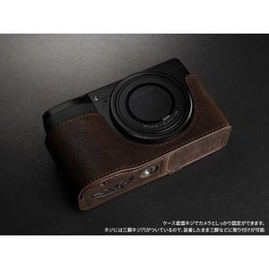 TP Original Leather Camera Body Case for RICOH GR III  Coco Brown リコー GR3 本革 レザー カメラケース EZ Series TB06GR3-CO|nineselect|07