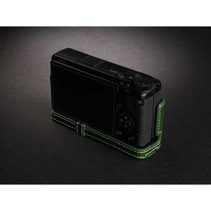 TP Original Leather Camera Body Case for RICOH GR III  Green リコー GR3 本革 レザー カメラケース EZ Series TB06GR3-GR nineselect 03