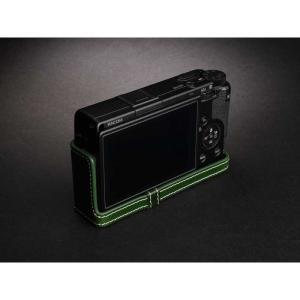 TP Original Leather Camera Body Case for RICOH GR III  Green リコー GR3 本革 レザー カメラケース EZ Series TB06GR3-GR nineselect 04
