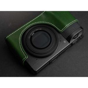 TP Original Leather Camera Body Case for RICOH GR III  Green リコー GR3 本革 レザー カメラケース EZ Series TB06GR3-GR nineselect 05