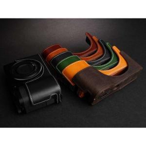 TP Original Leather Camera Body Case for RICOH GR III  Green リコー GR3 本革 レザー カメラケース EZ Series TB06GR3-GR nineselect 08