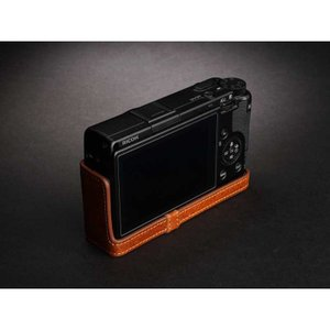 TP Original Leather Camera Body Case for RICOH GR III  Volcano リコー GR3 本革 レザー カメラケース EZ Series TB06GR3-LB|nineselect|04