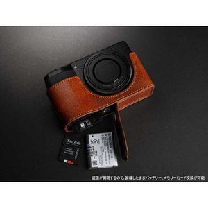 TP Original Leather Camera Body Case for RICOH GR III  Volcano リコー GR3 本革 レザー カメラケース EZ Series TB06GR3-LB|nineselect|06