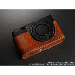 TP Original Leather Camera Body Case for RICOH GR III  Volcano リコー GR3 本革 レザー カメラケース EZ Series TB06GR3-LB|nineselect|07