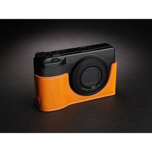 TP Original Leather Camera Body Case for RICOH GR III  Tan リコー GR3 本革 レザー カメラケース EZ Series TB06GR3-WB|nineselect|02