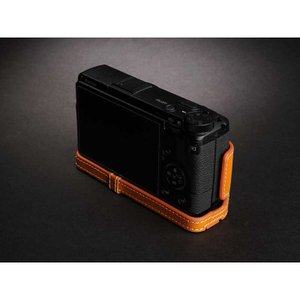 TP Original Leather Camera Body Case for RICOH GR III  Tan リコー GR3 本革 レザー カメラケース EZ Series TB06GR3-WB|nineselect|03