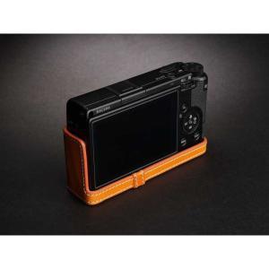 TP Original Leather Camera Body Case for RICOH GR III  Tan リコー GR3 本革 レザー カメラケース EZ Series TB06GR3-WB|nineselect|04