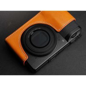 TP Original Leather Camera Body Case for RICOH GR III  Tan リコー GR3 本革 レザー カメラケース EZ Series TB06GR3-WB|nineselect|05
