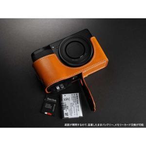 TP Original Leather Camera Body Case for RICOH GR III  Tan リコー GR3 本革 レザー カメラケース EZ Series TB06GR3-WB|nineselect|06