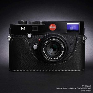 TP Original Leather Camera Body Case for Leica M (Typ 240/262/246)   Black ライカ 本革 レザー カメラケース EZ Series TB06M-BK|nineselect