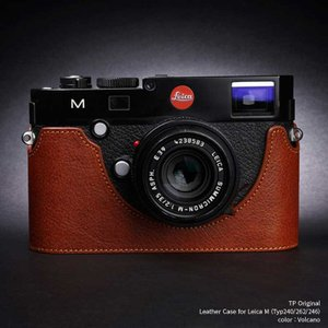 TP Original Leather Camera Body Case for Leica M (Typ 240/262/246)   Volcano ライカ 本革 レザー カメラケース EZ Series TB06M-LB|nineselect