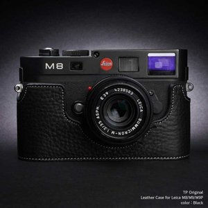 TP Original Leather Camera Body Case for Leica M8/M9/M9P Black ライカ 本革 レザー カメラケース Classic Series TB05M8-BK|nineselect