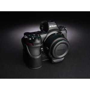 TP Original Nikon Z7 / Z6 専用 レザー カメラケース Black ブラック おしゃれ 速写ケース TB06Z7-BK|nineselect|02