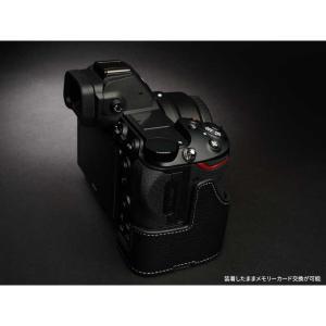TP Original Nikon Z7 / Z6 専用 レザー カメラケース Black ブラック おしゃれ 速写ケース TB06Z7-BK|nineselect|03