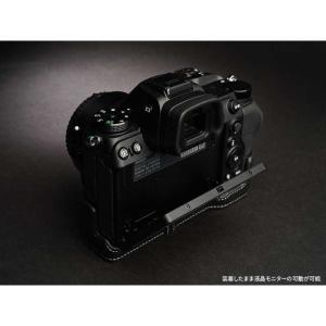 TP Original Nikon Z7 / Z6 専用 レザー カメラケース Black ブラック おしゃれ 速写ケース TB06Z7-BK|nineselect|04