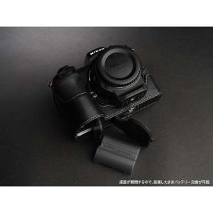 TP Original Nikon Z7 / Z6 専用 レザー カメラケース Black ブラック おしゃれ 速写ケース TB06Z7-BK|nineselect|05