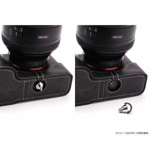 TP Original Nikon Z7 / Z6 専用 レザー カメラケース Black ブラック おしゃれ 速写ケース TB06Z7-BK|nineselect|07