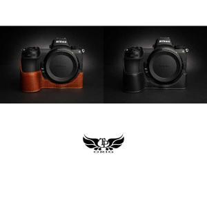 TP Original Nikon Z7 / Z6 専用 レザー カメラケース Black ブラック おしゃれ 速写ケース TB06Z7-BK|nineselect|08