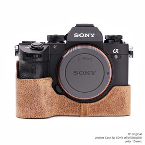 TP Original Leather Camera Body Case for SONY α9/α...
